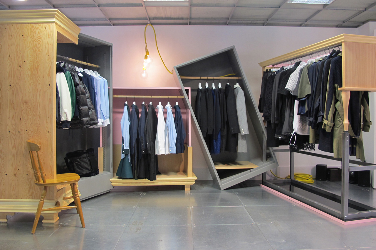 Image of Dover Street Market: Tachiagari for 2013 Fall/Winter