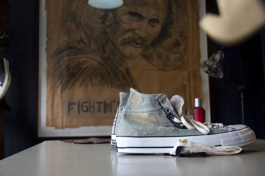 "Image of Dr. Romanelli x Converse First String 1970s Chuck Taylor ""Boro"" Preview"