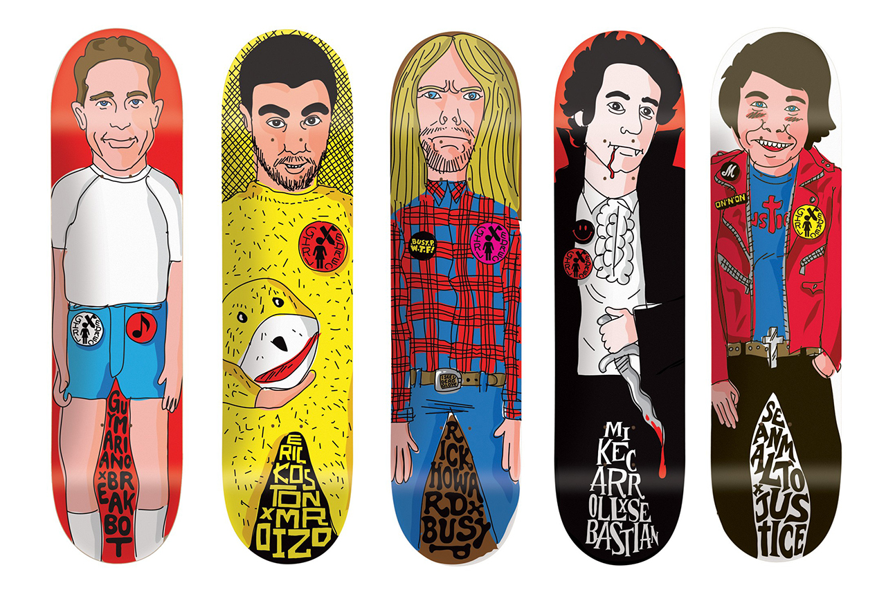 Image of Ed Banger Records x Girl Skateboards 2013 Collection