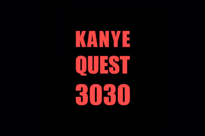 Image of Fan Creates Kanye West Video Game 'Kanye Quest 3030'