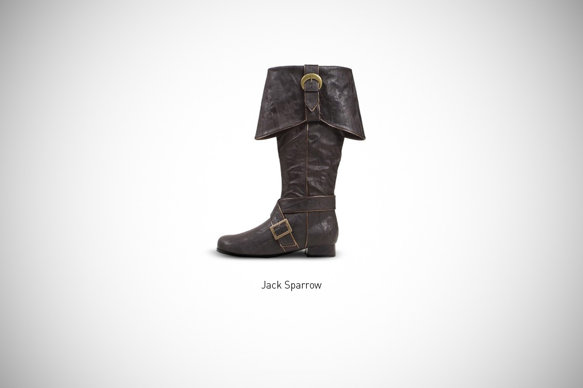 Image of Federico Mauro's Famous Footwear Series