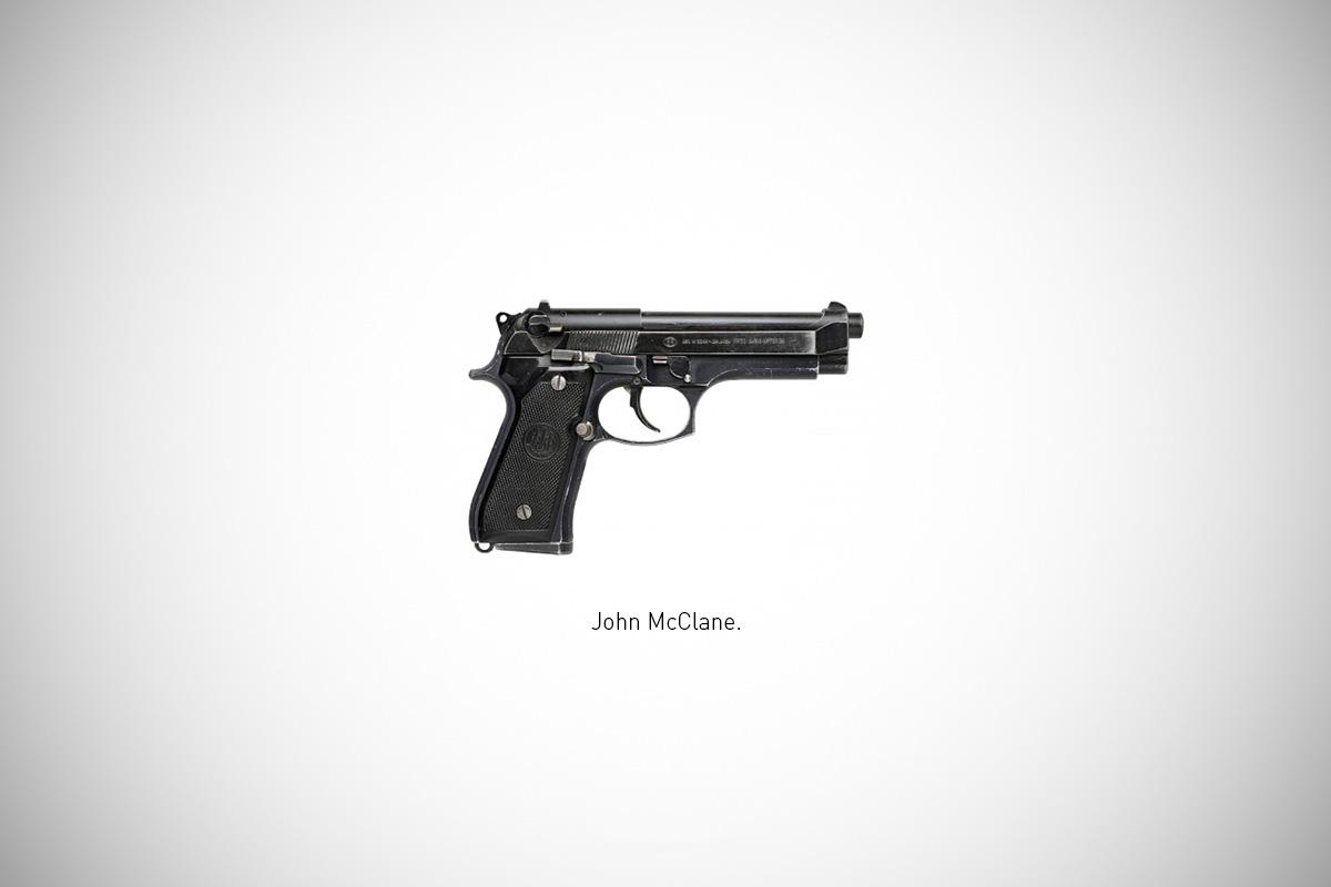 Image of Federico Mauro's Famous Guns Series