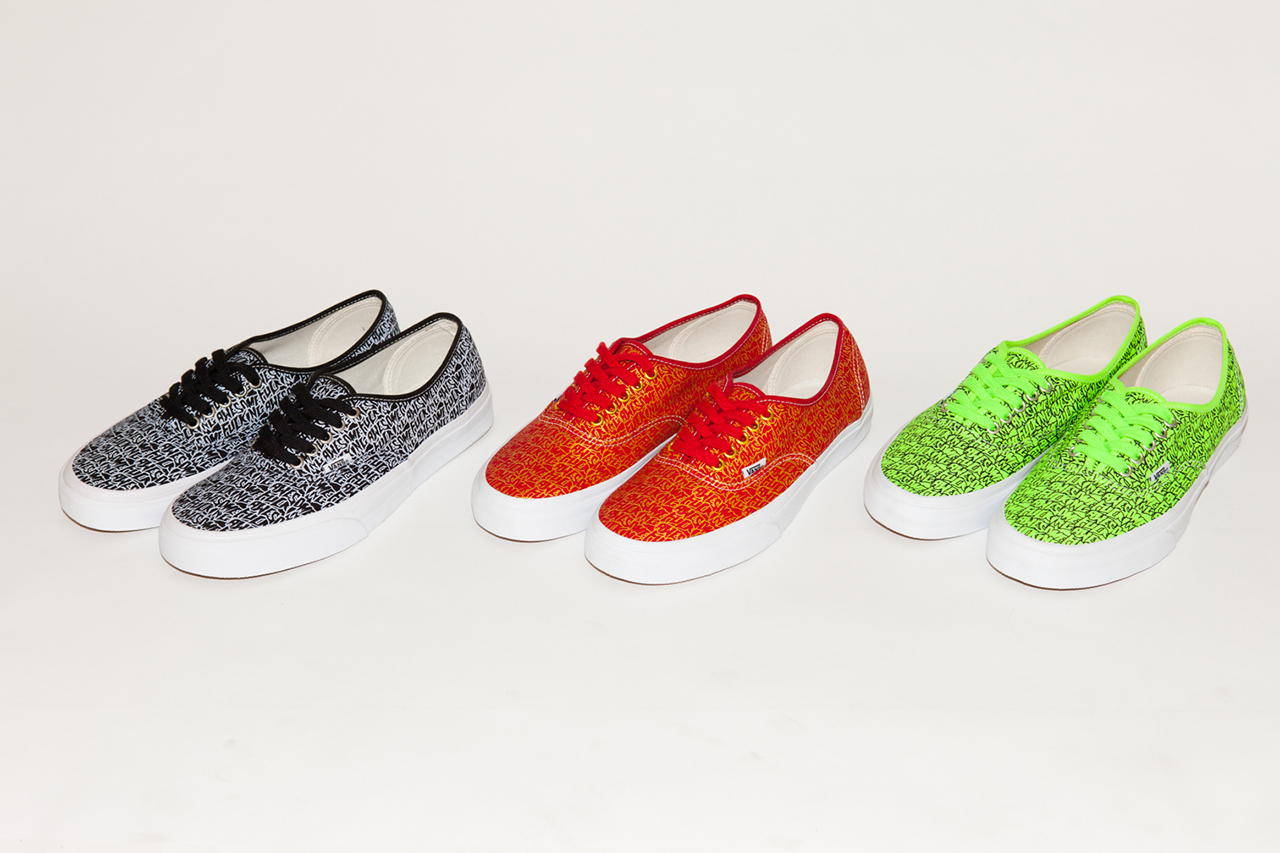 Image of Fucking Awesome x Vans 2013 Authentic Collection