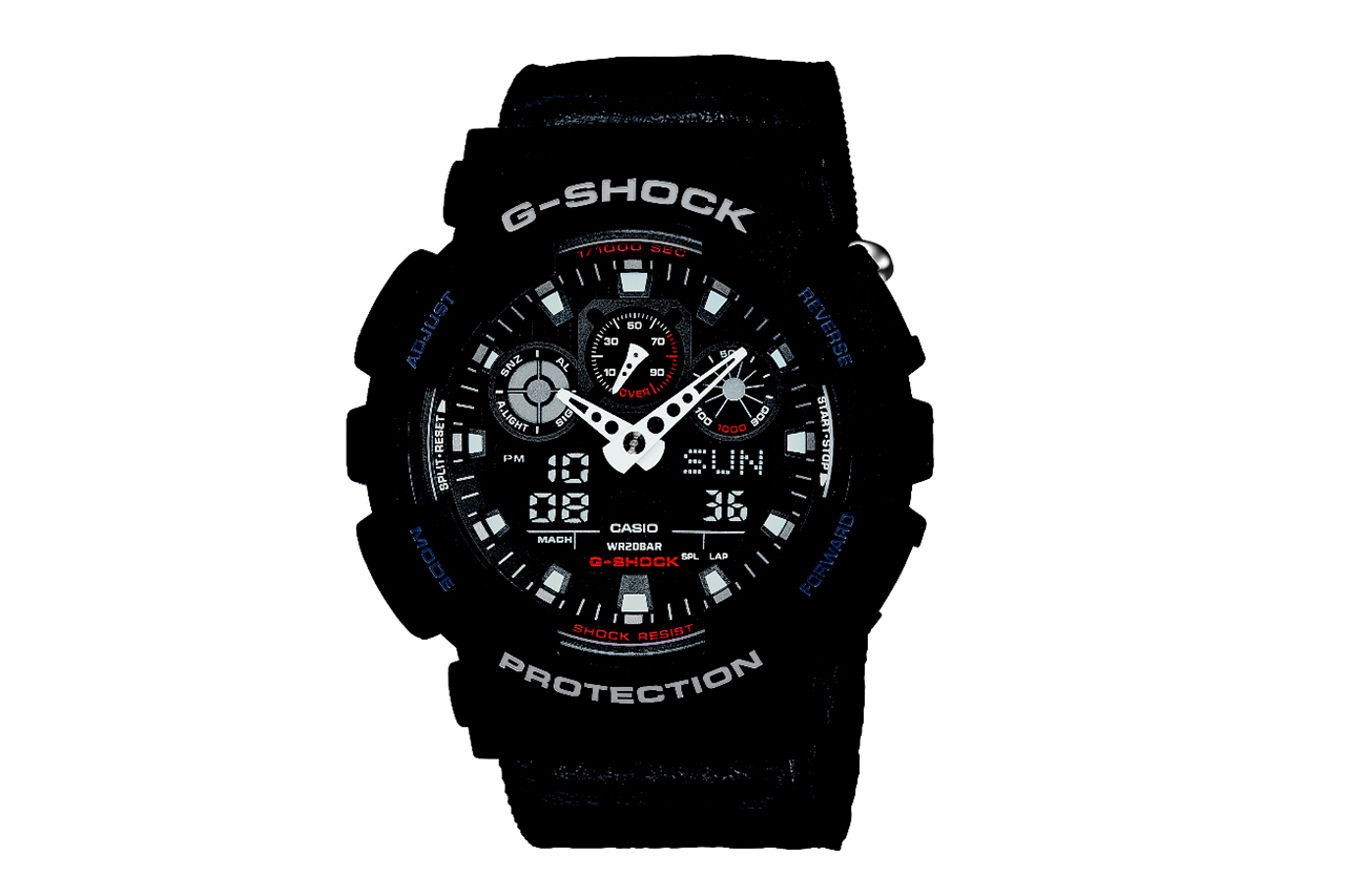 Image of Casio G-Shock GA100MC Military Cloth Collection