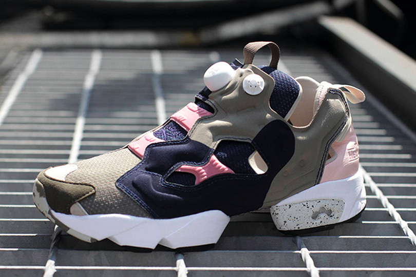 Image of Garbstore x Reebok OG Pump Fury Brown/Navy/Dark Preview