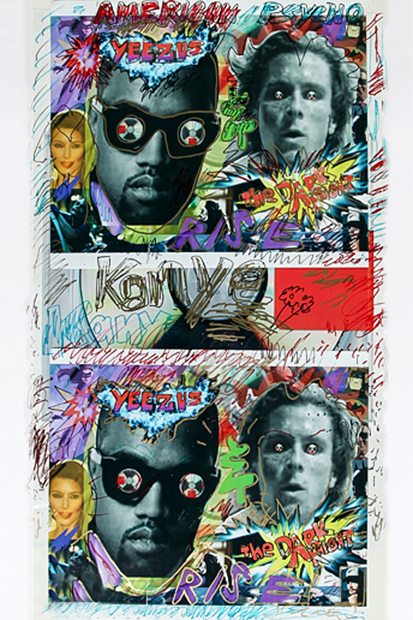 "Image of GQ Asks its Favorite Artists to ""PLEASE ADD GRAFFITI"" to Kanye West's 'Yeezus'"