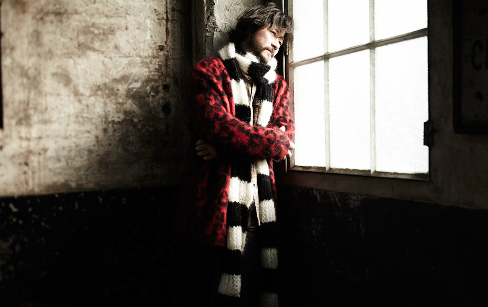 Image of Saint Laurent 2014 Fall/Winter Editorial featuring Tadanobu Asano
