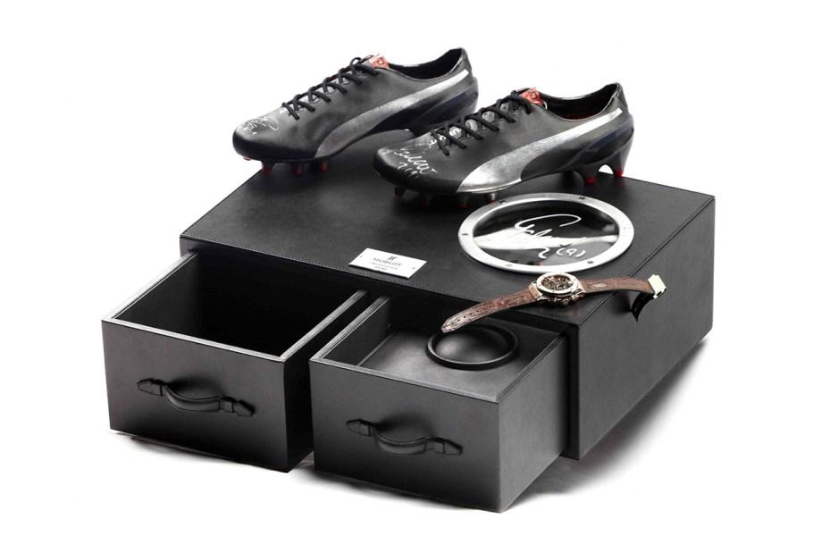 Image of Hublot x PUMA Falcao Watch and Cleats Pack