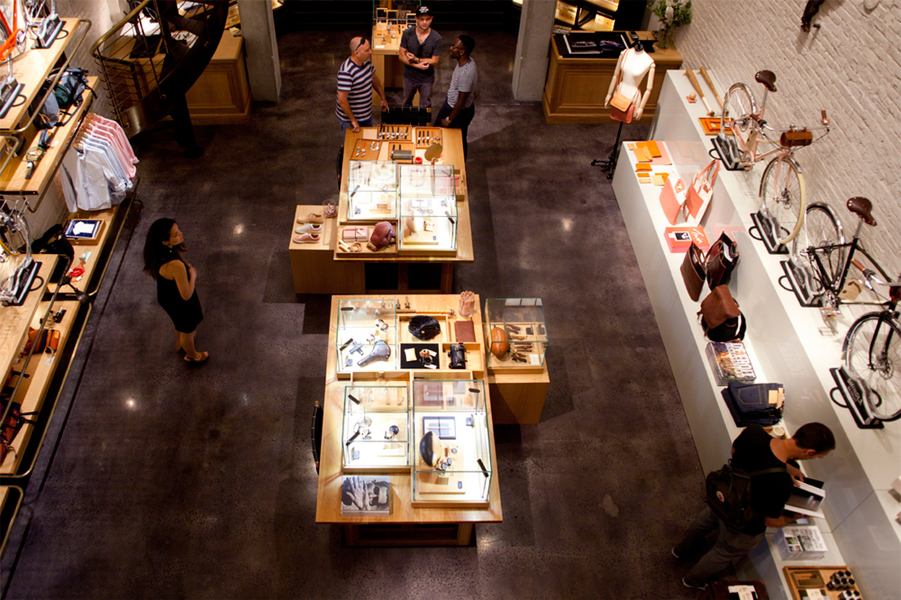 Image of Inside Shinola's New York City Flagship Store
