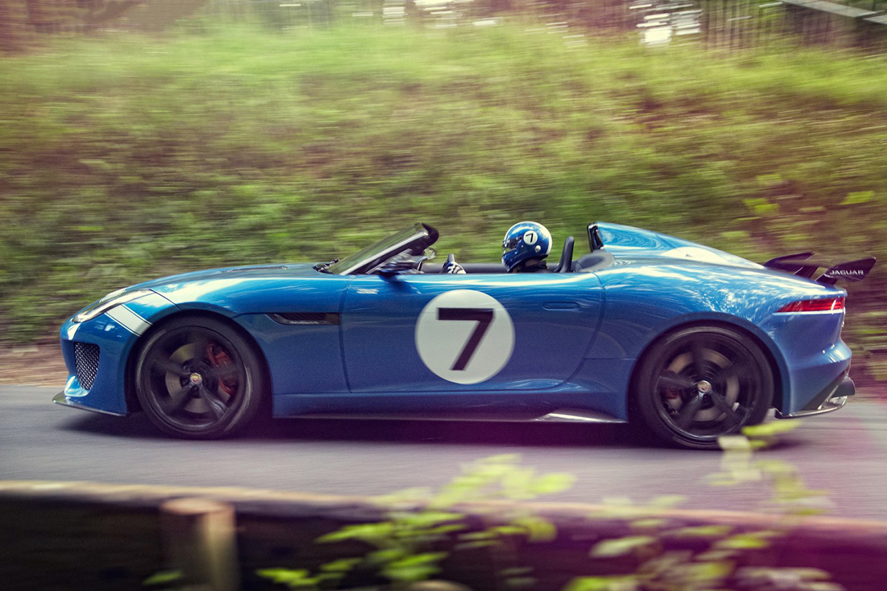 Image of Jaguar Unveils the Project 7 Concept