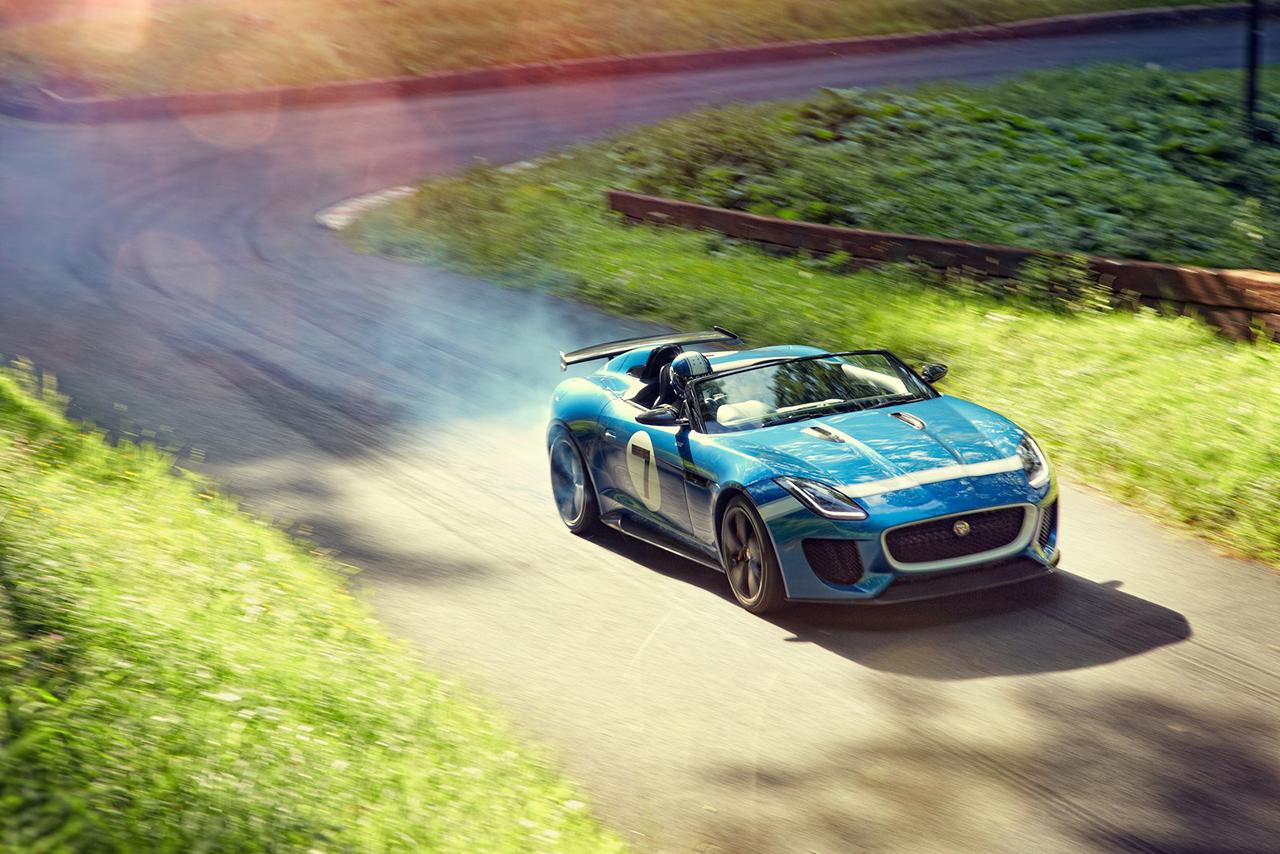 Image of Jaguar Unveils the Project 7 Concept