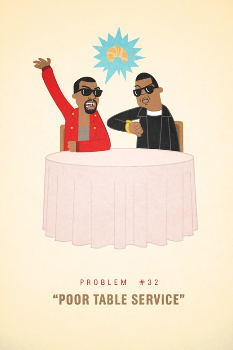 Image of Jay-Z's 99 Problems Illustrations by Ali Graham