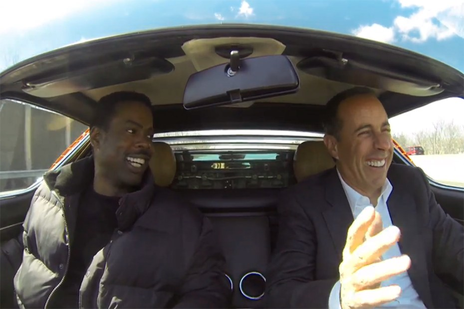 Image of Jerry Seinfeld's Comedians in Cars Getting Coffee: Chris Rock