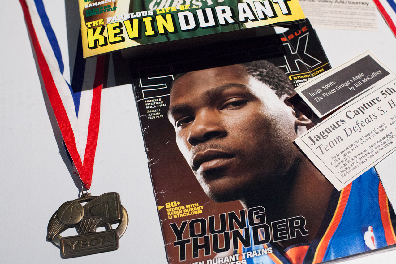 Image of Kevin Durant on His Latest Signature and Basketball in China