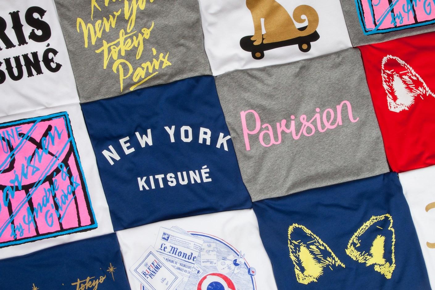Image of Kitsuné Tee 2013 Pre-Fall T-Shirts