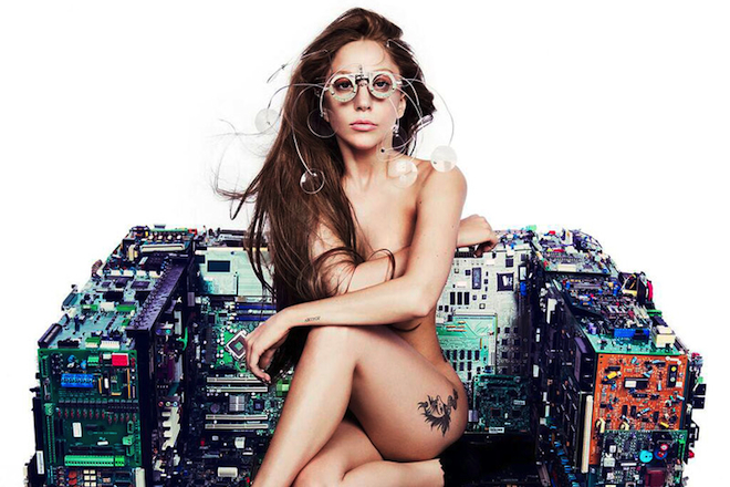 Image of Lady Gaga's Nude Photo Shoot with V Magazine