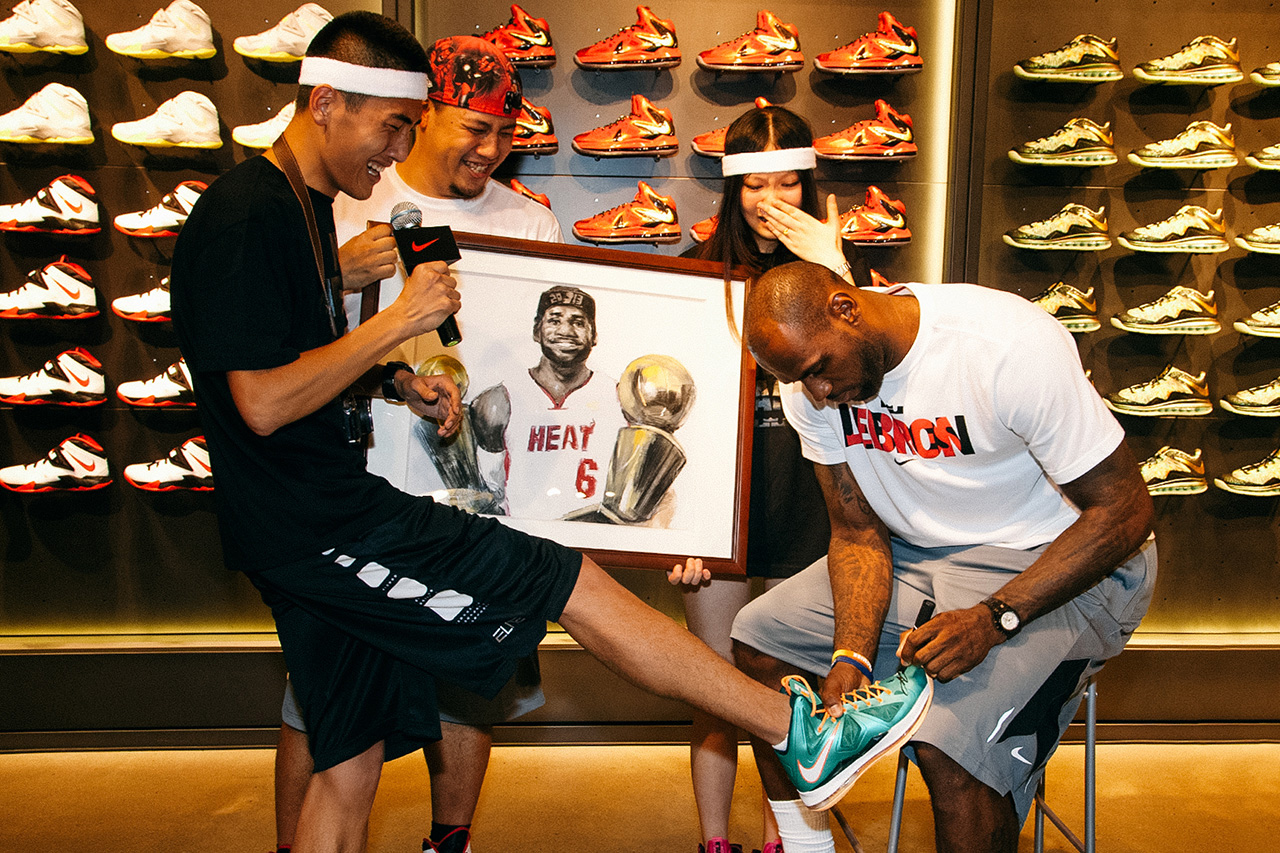 Image of LeBron James China Tour: Guangzhou Event Recap