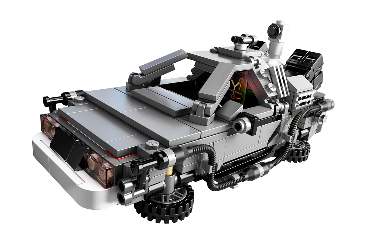 Image of LEGO Unveils 'Back to the Future' Time Machine Set