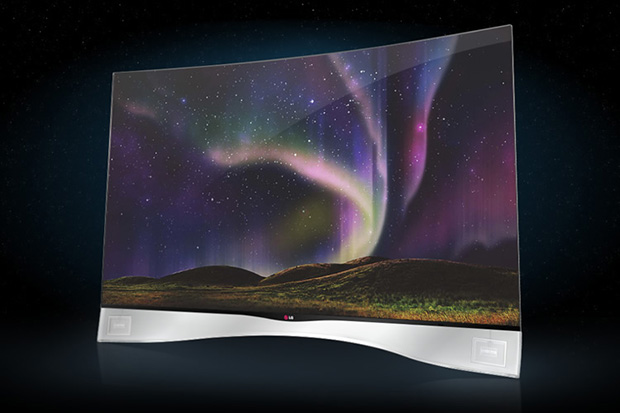 Image of LG Curved OLED TV