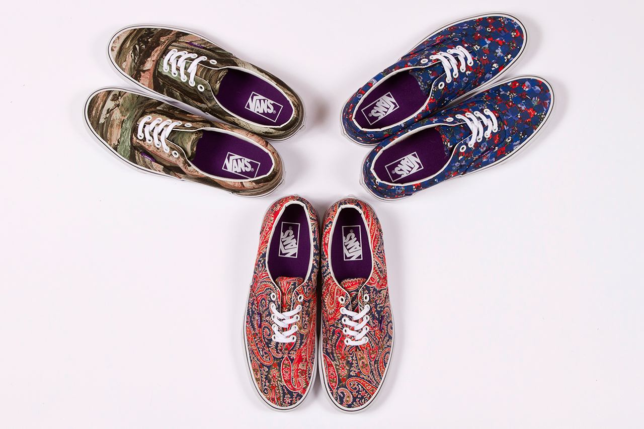 Image of Liberty x Vans 2013 Summer Collection