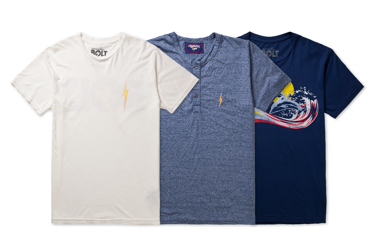 Image of Lightning Bolt 2013 Summer T-Shirts
