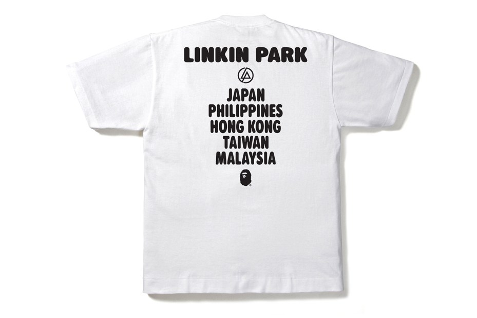 Image of Linkin Park x A Bathing Ape 2013 MILO TEE