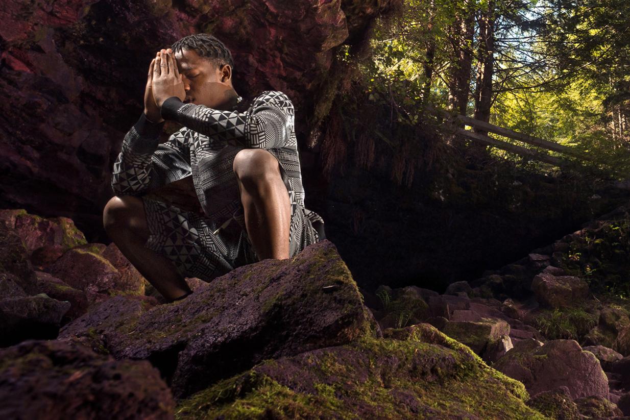 "Image of LRG 2013 Fall ""Upper Echelon"" Lookbook featuring Travi$ Scott"