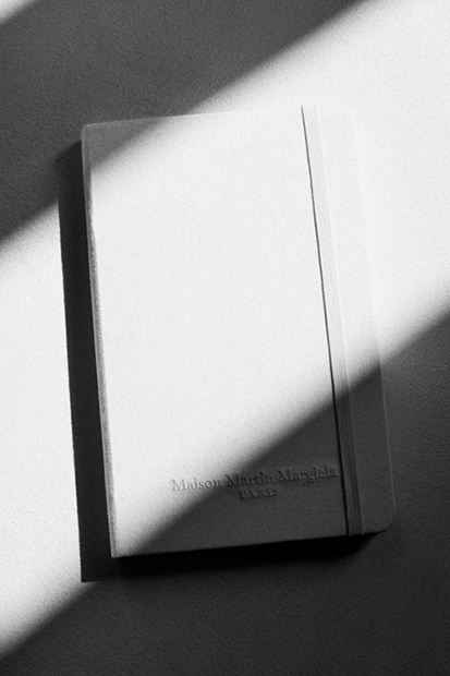 Image of Maison Martin Margiela Limited Edition All-White Moleskine Notebook