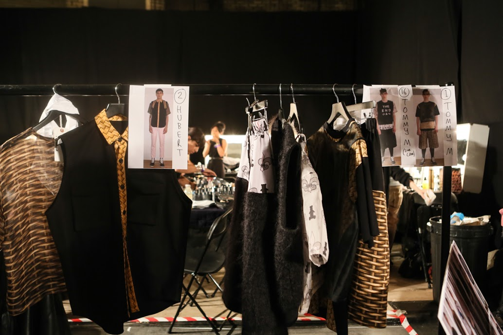 Image of MAN 2014 Spring/Summer Backstage Visuals