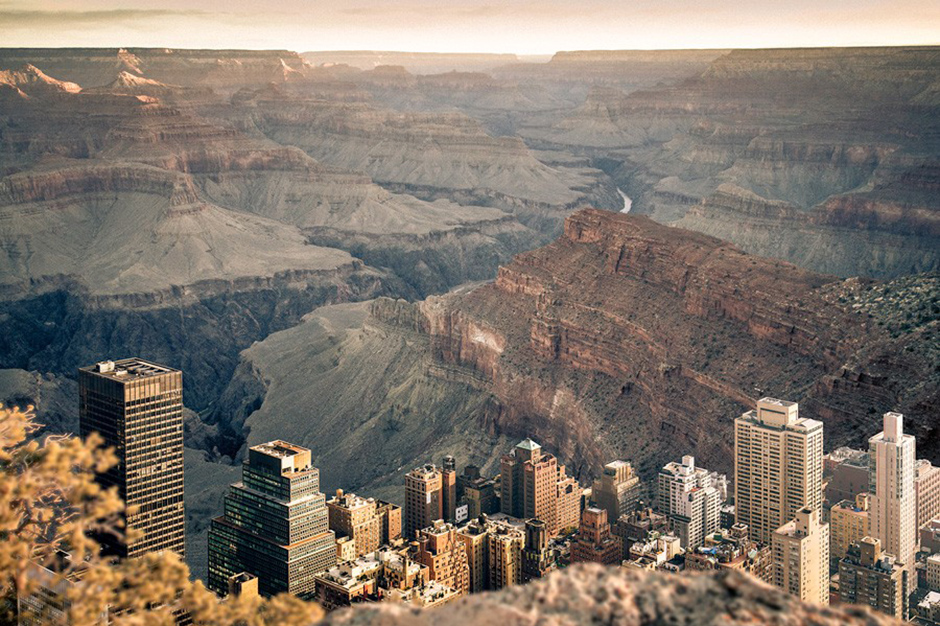 Image of What Manhattan Looks Like in the Grand Canyon by Gus Petro
