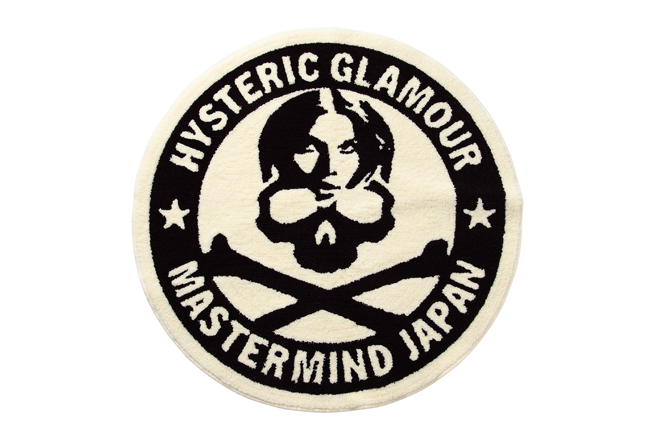 Image of mastermind JAPAN x Hysteric Glamour Circle Rug