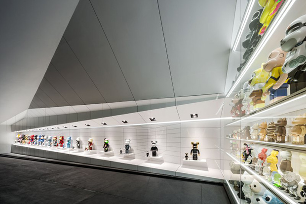Image of An Impressive Collection of Bearbricks at The Garage of the Bears
