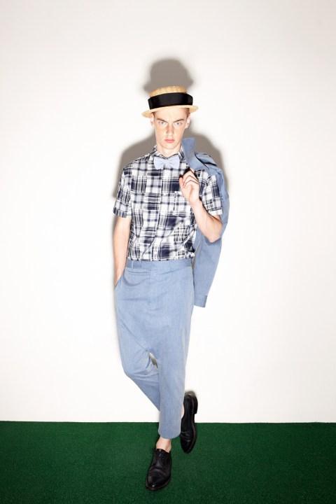 Image of Munsoo Kwon 2014 Spring/Summer Lookbook