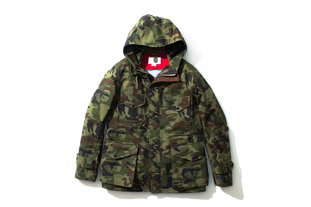 Image of nanamica 2013 Fall/Winter GORE-TEX Camouflage Collection