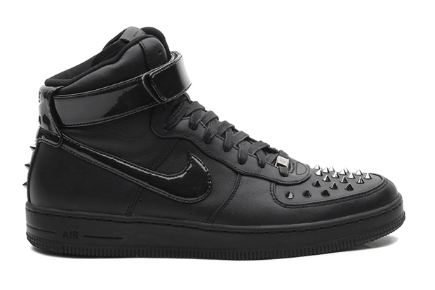 Image of Nike Air Force 1 Downtown Hi Spike Black