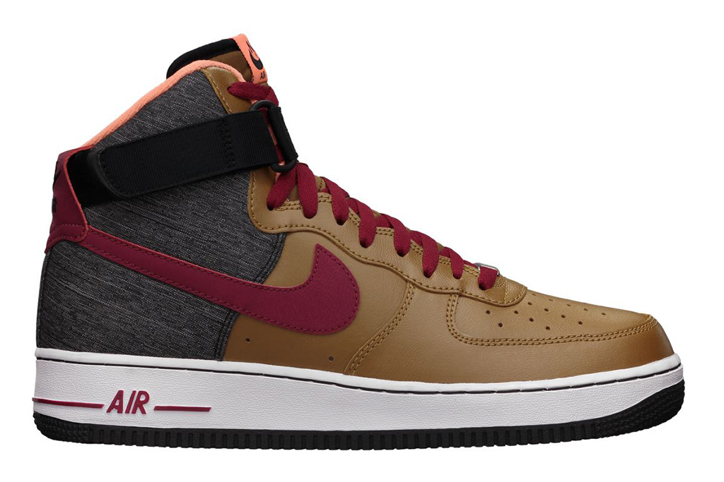Image of Nike Sportswear Air Force 1 High 07 Ale Brown/Noble Red-Black
