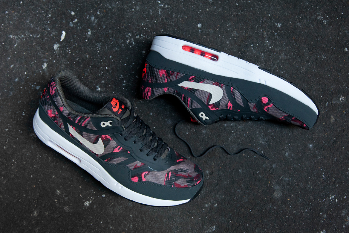 "Image of Nike Air Max 1 Premium Tape ""Petra Brown Camo"""