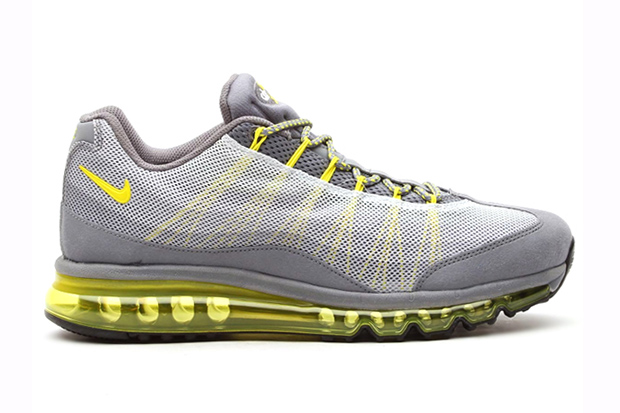 Image of Nike Air Max 95 2013 DYN FW Cool Grey / Grey Sonic Yellow-Silver-Wolf