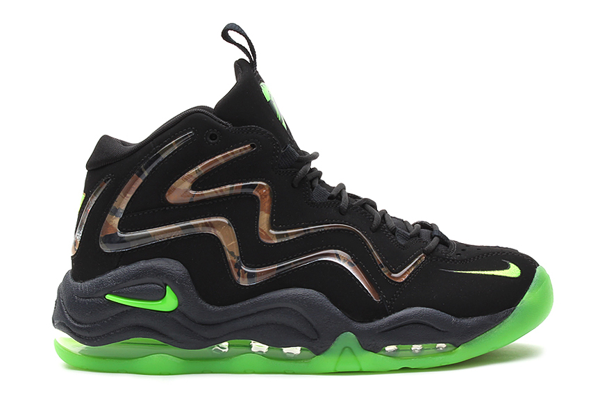 Image of Nike Air Pippen 1 Retro Black/Flash Lime-Anthracite