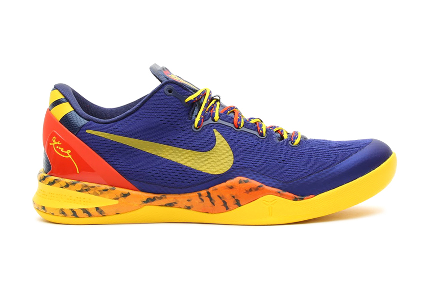 Image of Nike Kobe 8 System Deep Royal Blue/Tour Yellow