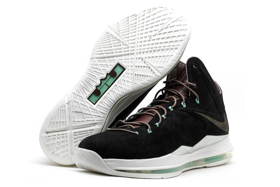 "Image of Nike Lebron X EXT ""Black Suede"" QS"