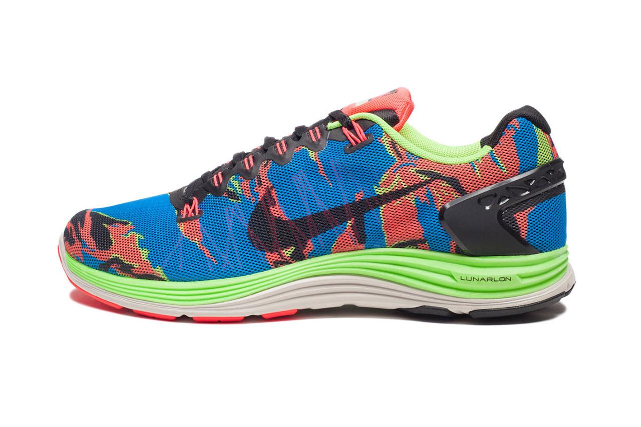 Image of Nike LunarGlide+ 5 Blue/Orange/Black