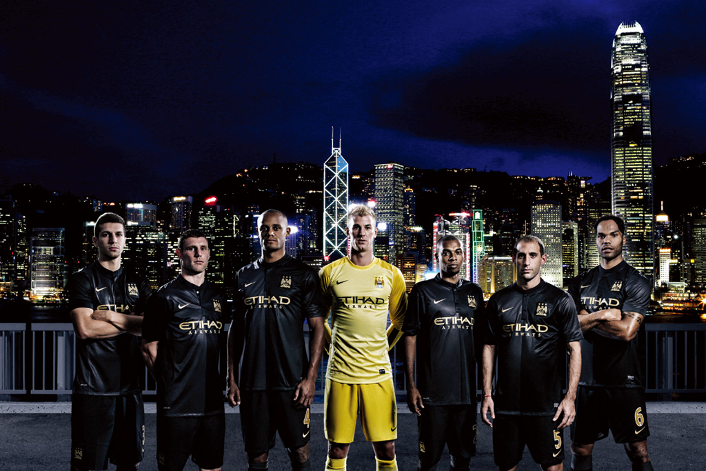 Image of Nike Soccer Unveils 2014 Manchester City Away Kit
