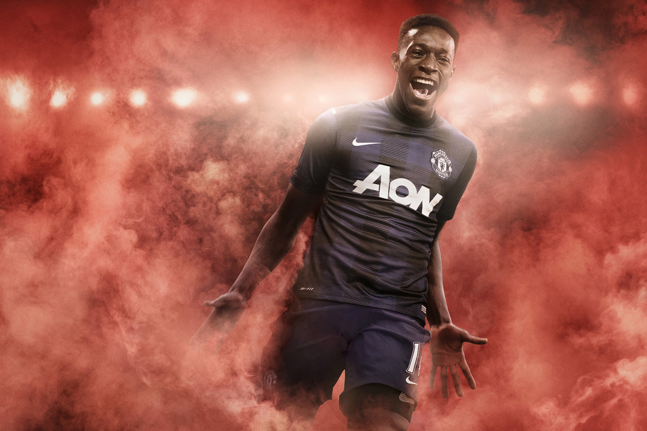 Image of Nike Manchester United 2013-14 Away Kit