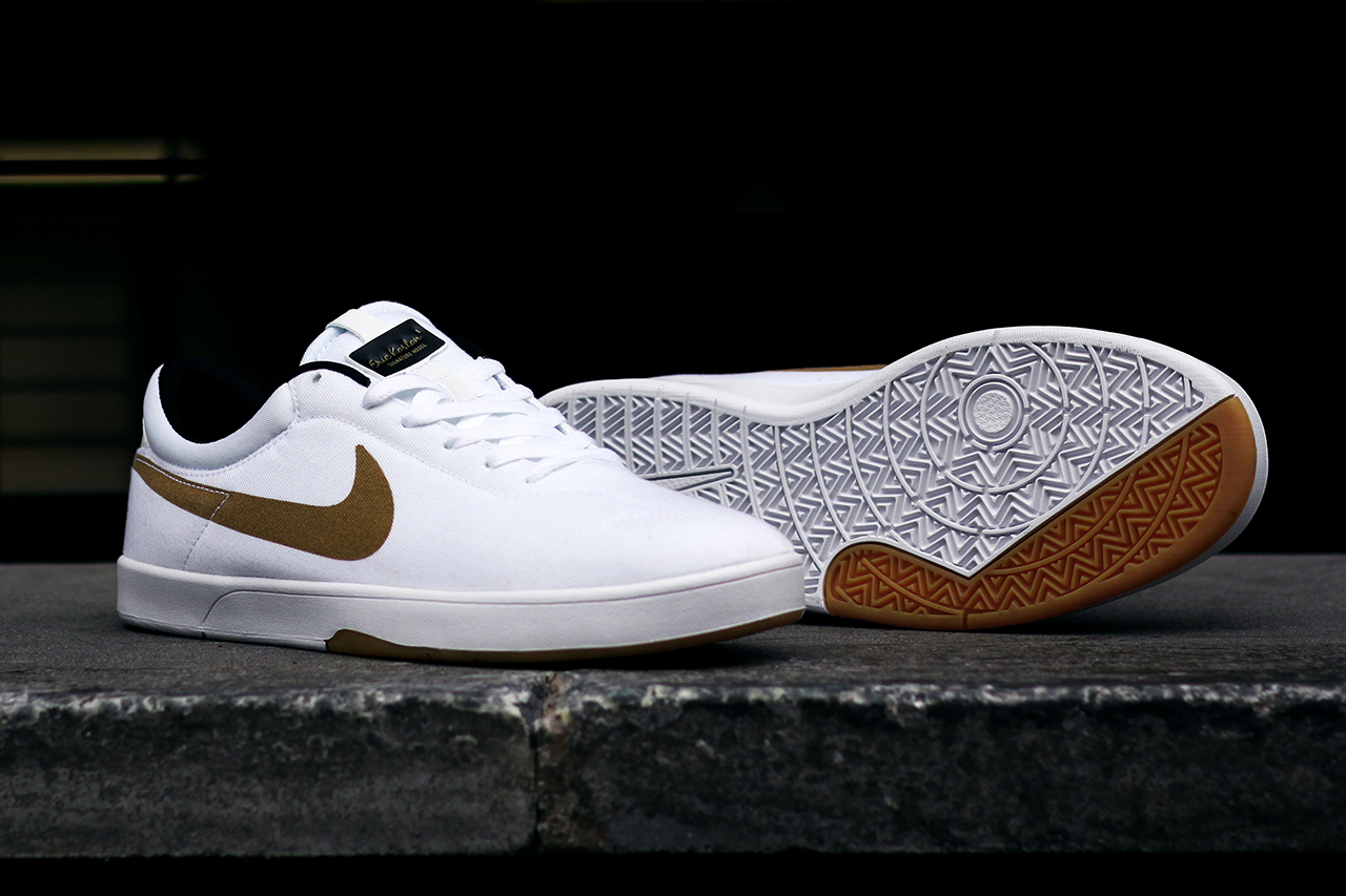 Image of Nike SB Koston SE White/Metallic Gold