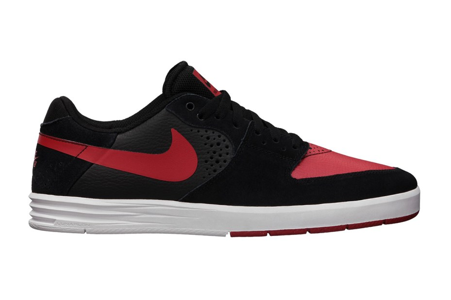 Image of Nike SB Paul Rodriguez 7 Black/University Red-White