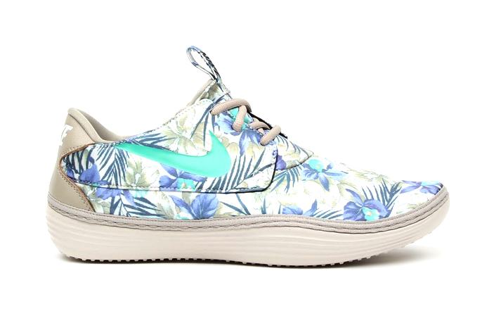 "Image of Nike Solarsoft Moccasin SP ""Floral"""