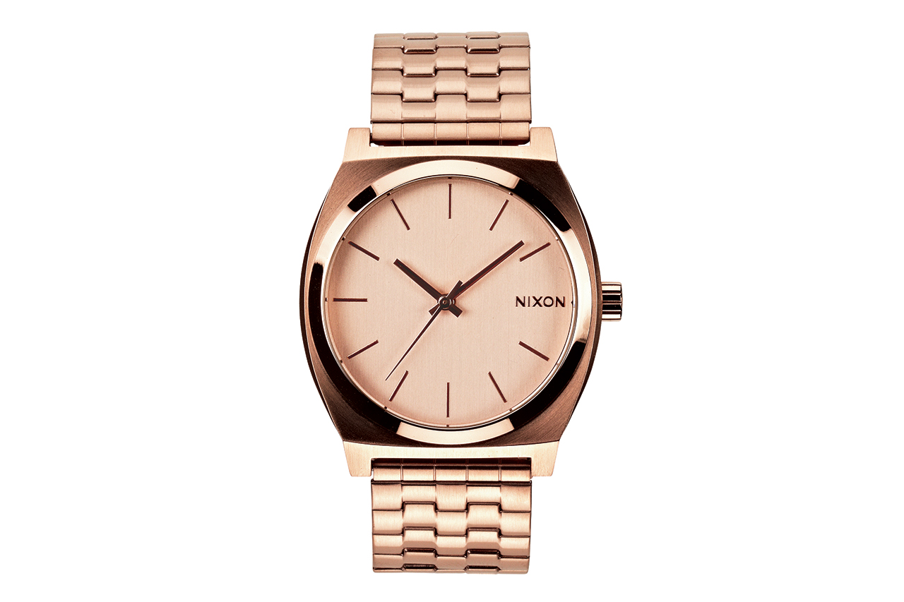 Image of Nixon Time Teller Rose Gold