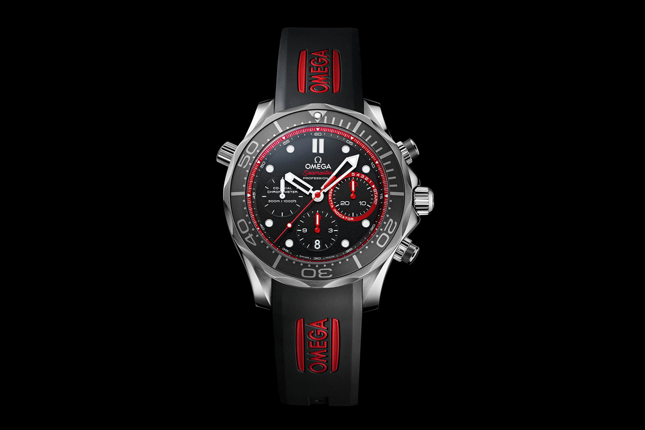 Image of Omega Seamaster Diver Team ETNZ Limited Edition Watch