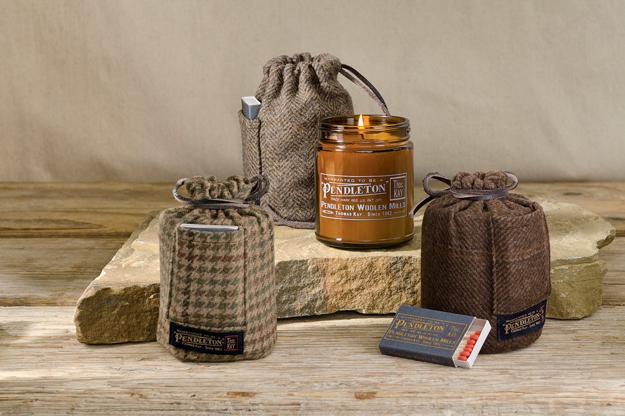 Image of Pendleton Woolen Mills Thomas Kay x Joya Candle